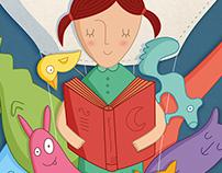 Afiche - 16a Feria del Libro Infantil y Juvenil
