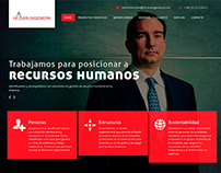 Website - La Cima Ingeniería