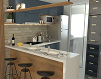 Interiores | Projeto Cozinha Matheus Orneles