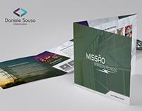Folder de apresentação da Missão Serviços Técnicos