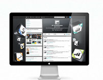 XP Investimentos Twitter GUI