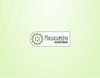 Masasamba Juice Bar   Branding