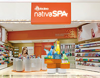 Projeto de loja Nativa Spa