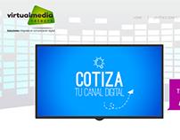 WEB PAGE DESING Virtualmedia Network