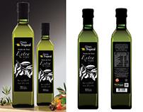 Propuesta diseño Aceite Oliva Tropical