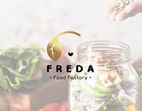 FREDA: Logo and Brand Identity Stylescape