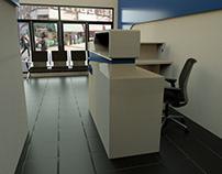 Manuels Autobody Shop 3D Interior & Furniture Design