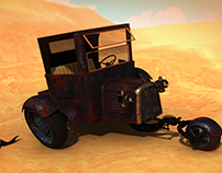 The Journey - 3D Transport Art Challenge