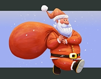 Santa - Character Illustration