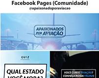 Portfólio Mídias Sociais Case : @apaixonadoporaviacao