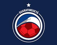 Redesign - Escudo Guaratinguetá Futebol Ltda.