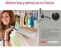 Banco de América Central Saving Campaign