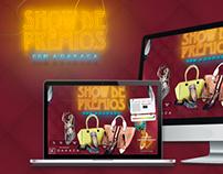 Hotsite Show de Prêmios com Dakaca