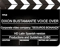 Corporate voice, video Promotional SEGUROS BONANZA