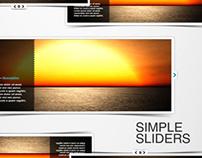 Simple Sliders