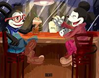 Oswald & Mickey