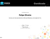 Certificado - SEO para Wordpress