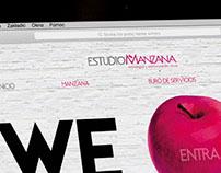 Colaboración web responsiva Estudio Manzana