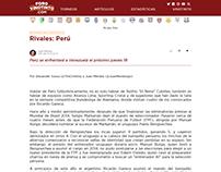 Previa Venezuela - Perú, Copa América
