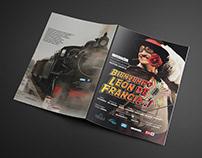 Diseño Folleto. DVD Léon de Francia