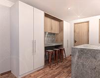Diseño mueble integral - PVC