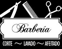 Logo de Barbería