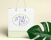 Branding ropa para niños y bebés Mili