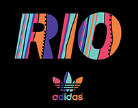 Adidas Originals Olympic Games Rio 2016 Graphics