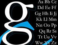 Cartaz Tipográfico Garamond