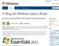 Blog do Windows para o Brasil