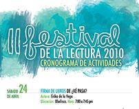Afiche - II Festival de Lectura
