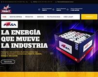 BATERÍAS AMSA WEB