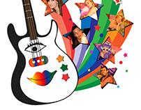 Diseño de logo y afiche para compañía teatral