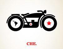"""Serie de Afiches """"Revolucionarios"""""""