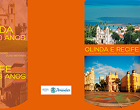 Folder aniversário Olinda e Recife