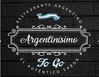 Diseño de Logo Restaurante Argentinísimo