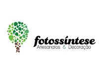 Logo Fotossíntese - Artesanatos & Decoração