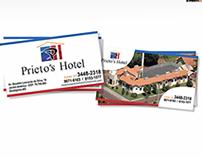 Cartão de Visita Hotel Prietos
