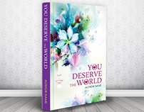 Capa/Book cover (concurso) You deserve the world