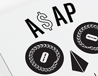 A$AP MOB // Merchandise Graphic