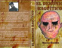 """Rediseño de Portada del Libro """"El demonio raquitico"""""""