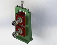 Torre porta-rodillos para máquinas perfiladoras
