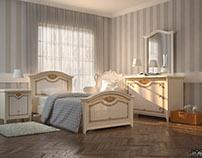 RENDER Delicate Room