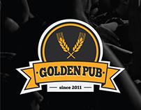 Identidade Visual Golden Pub
