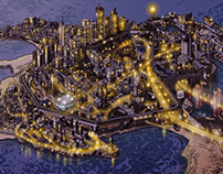 ciudad videojuego 2d