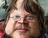 Caricature Guillermo del Toro / Illustration