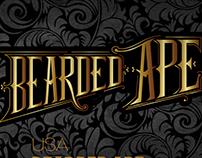Bearded Ape logo and branding design