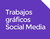 Trabajos gráficos Social Media