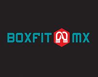 Logotipo Boxfit MX