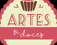 Logotipo + Capa Facebook - Artes & Doces